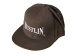 Hustlin Flatbill Hat (Brown)