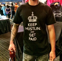 Hustlin USA Get Paid Shirt