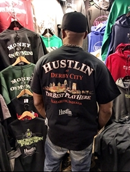 "New! Hustlin Derby City ""The Best Play Here"" Shirt"