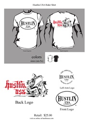 Hustlin USA Rider Shirt