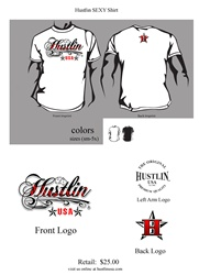 Hustlin USA Sexy T Shirt