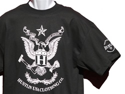 Hustlin USA Eagle Shirt
